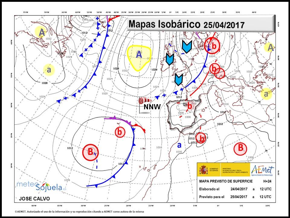 mapas isobaricos tiempo logroño larioja josecalvo meteosojuela meteo