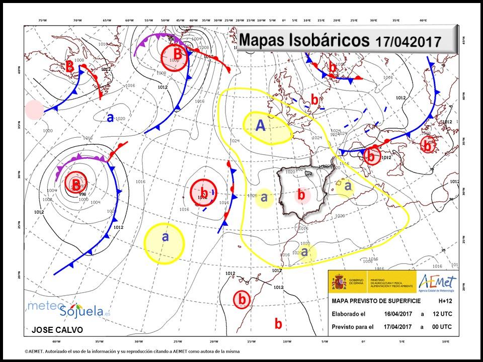 mapas isobaricos tiempo logroño larioja josecalvo meteosojuela