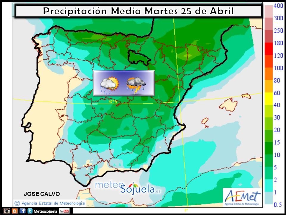 mapas precipitación tiempo logroño larioja josecalvo meteosojuela meteo