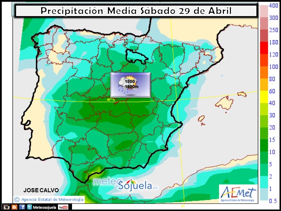 Mapa precipitacion tiempo logroño la rioja josecalvo meteosojuela
