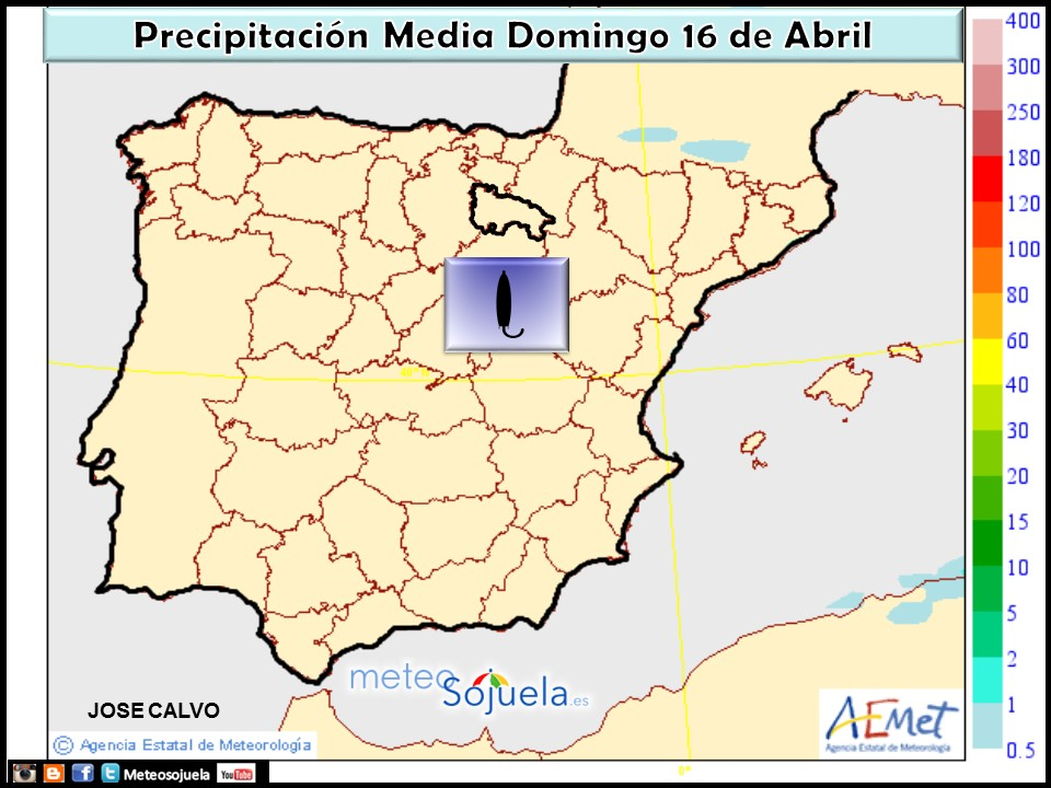 mapas precipitacion tiempo logroño larioja josecalvo meteosojuela