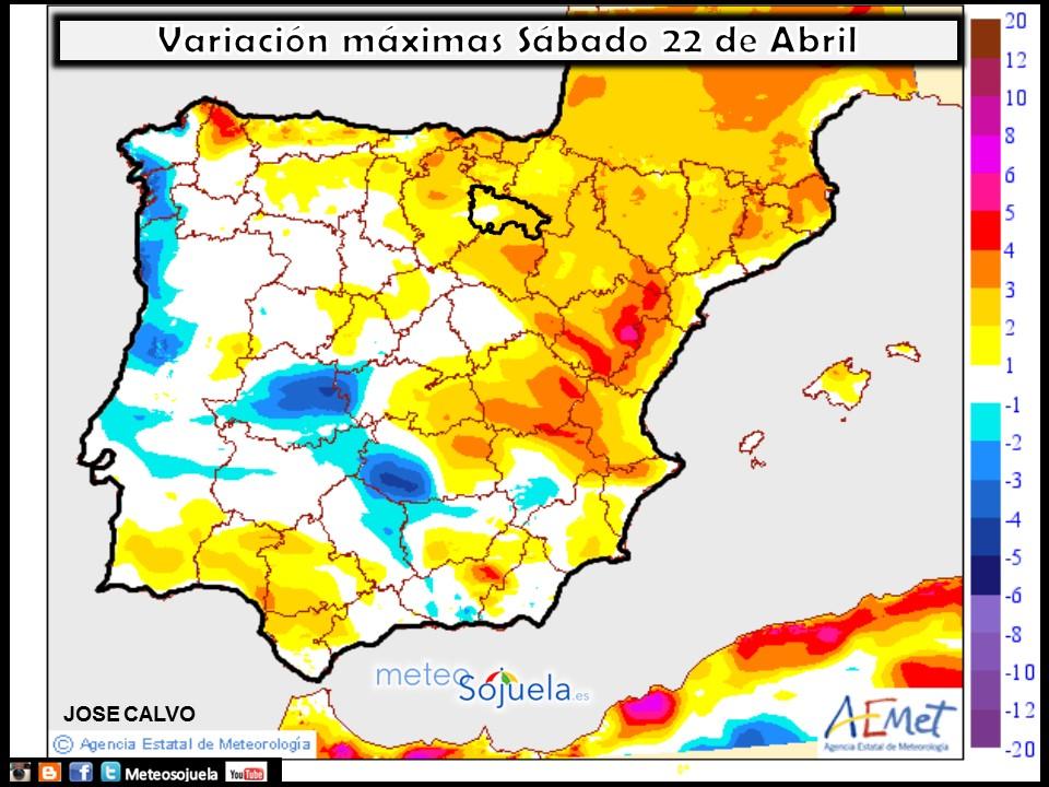 mapa temperturas tiempo logroño la rioja josecalvo meteosojuela