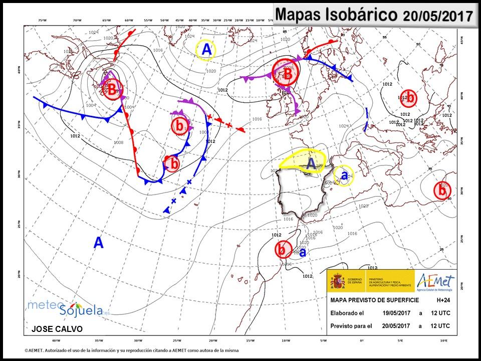 mapa frentes logroño larioja josecalvo meteosojuela