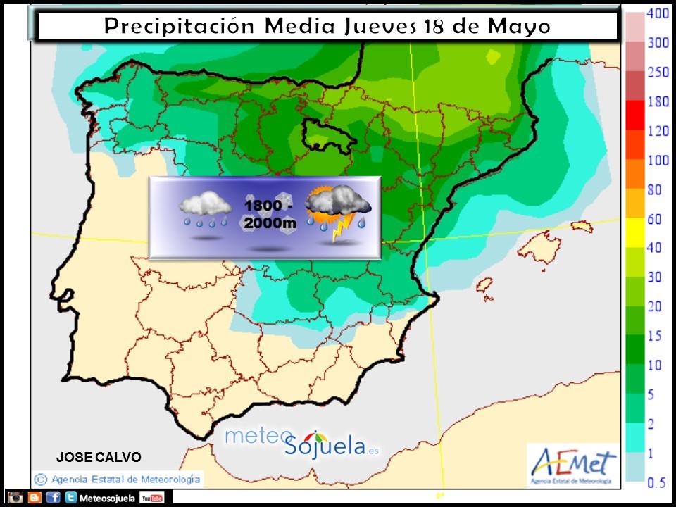mapa precipitacion tiempo logroño larioja meteosojuela josecalvo