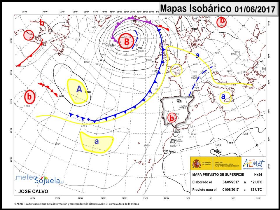 mapas isobarico logroño larioja tiempo josecalvo meteosojuela