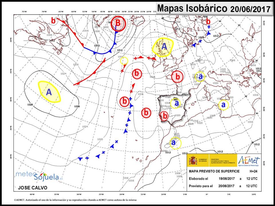 mapa isobárico tiempo logroño larioja josecalvo meteosojuela