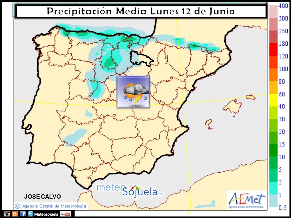 mapa precipitación tiempo logroño la rioja josecalvo meteosojuela
