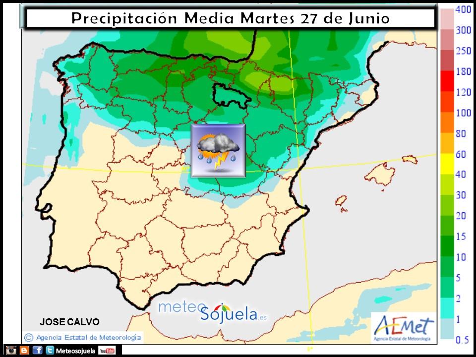 mapa lluvia tiempo logroño la rioja josecalvo meteosojuela