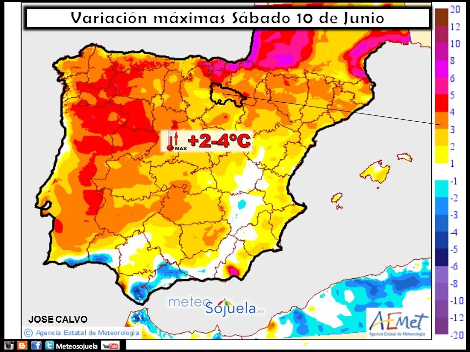 mapa temperaturas tiempo Logroño larioja josecalvo meteosojuela