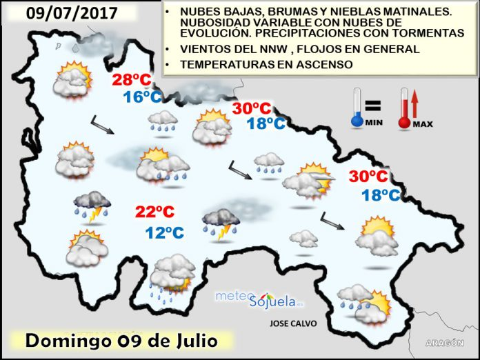 mapa lluvias tiempo larioja josecalvo meteosojuela