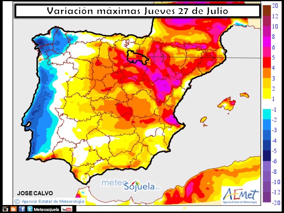 mapa temperaturas tiempo logroño larioja meteosojuela josecalvo meteo