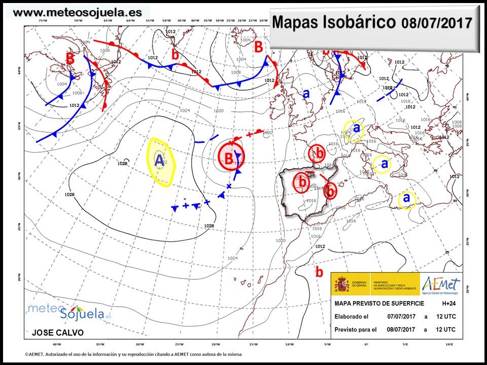 mapa isobarico tiempo logroño larioja josecalvo meteosojuela