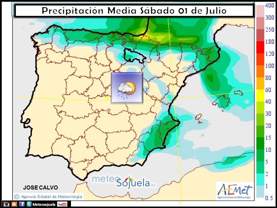 mapa precipitaciones tiempo logrono larioja josecalvo meteosojuela