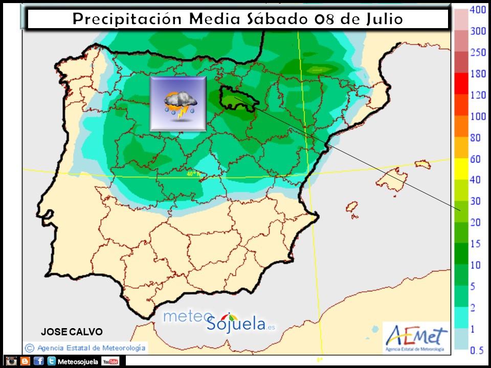 mapa lluvias tiempo logroño larioja josecalvo meteosojuela
