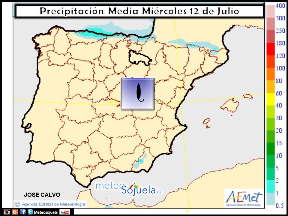 mapas precipitación tiempo larioja  josecalvo meteosojuela