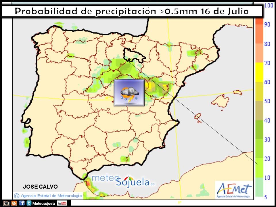 mapa lluvias meteo tiempo larioja josecalvo meteosojuela