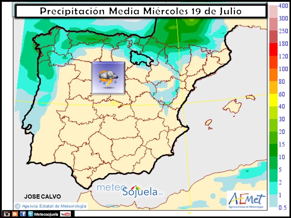 mapa precipitaciones tiempo larioja josecalvo meteosojuela meteo