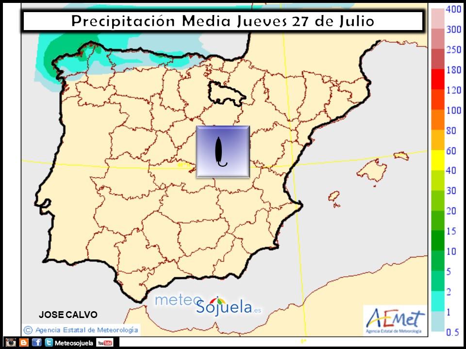 mapa precipitacion tiempo logroño larioja meteosojuela josecalvo meteo