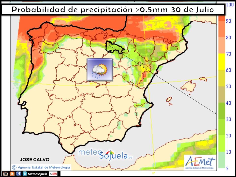 Mapa meteo precipitacion tiempo larioja josecalvo meteosojuela