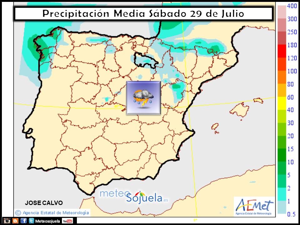 mapaprecipitacion tiempo larioja josecalvo meteosojuela meteo