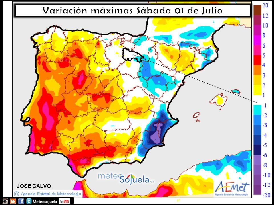 mapa temperaturas tiempo logrono larioja josecalvo meteosojuela