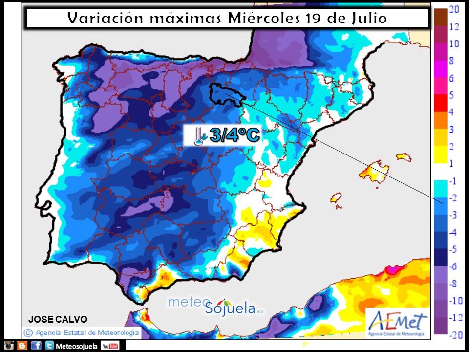 mapa temperaturas tiempo larioja josecalvo meteosojuela meteo