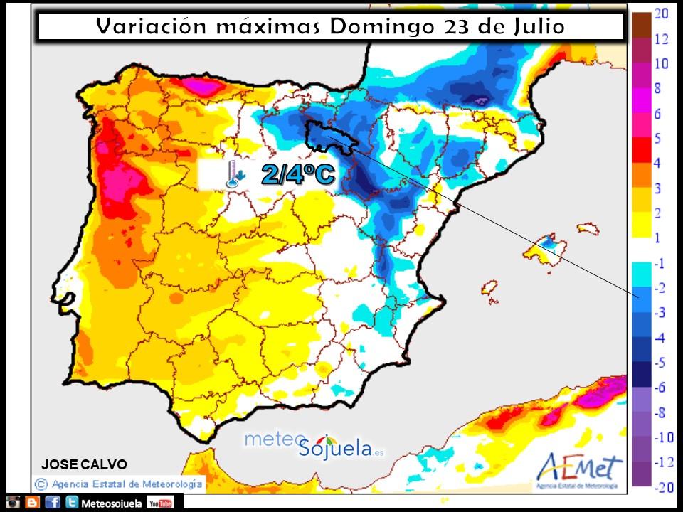 mapa temperaturas meteo tiempo larioja josecalvo meteosojuela