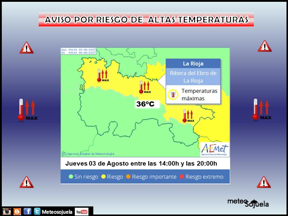 AVISO amarillo, tiempo,josecalvo,meteo,meteosojuela,larioja