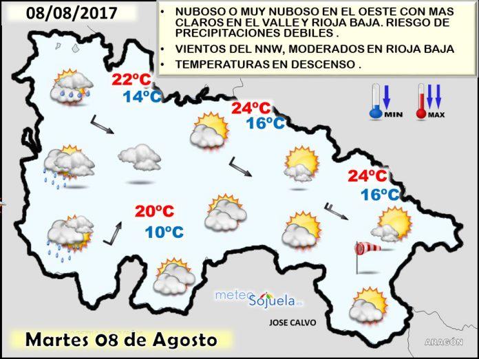 tiempo, larioja,logroño,mapa temperaturas,josecalvo, meteo,meteosojuela
