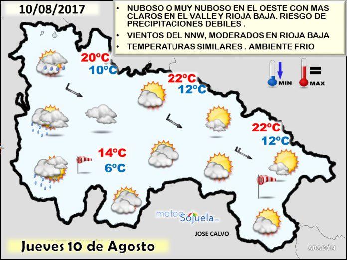 tiempo,larioja,mapa temperaturas,josecalvo,meteo,meteosojuela