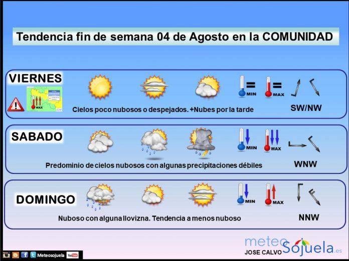 TENDENCIA FINDE SEMANA previsión, predicción, tiempo,larioja,josecalvo,meteosojuela,meteoA0408
