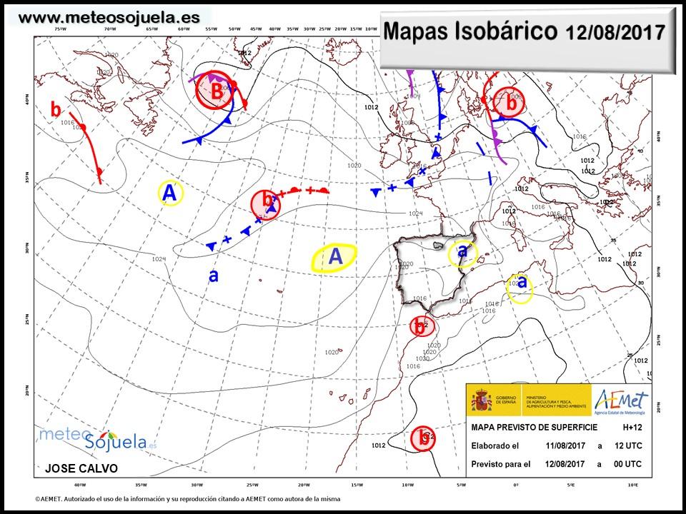 tiempo,larioja,mapa isobarico, josecalvo,meteorologia meteo,meteosojuela