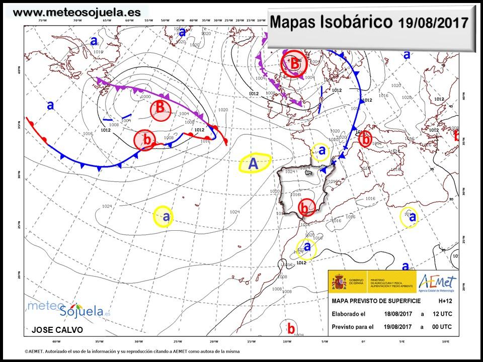 tiempo,larioja,mapa isobarico,meteo,josecalvo,meteosojuela