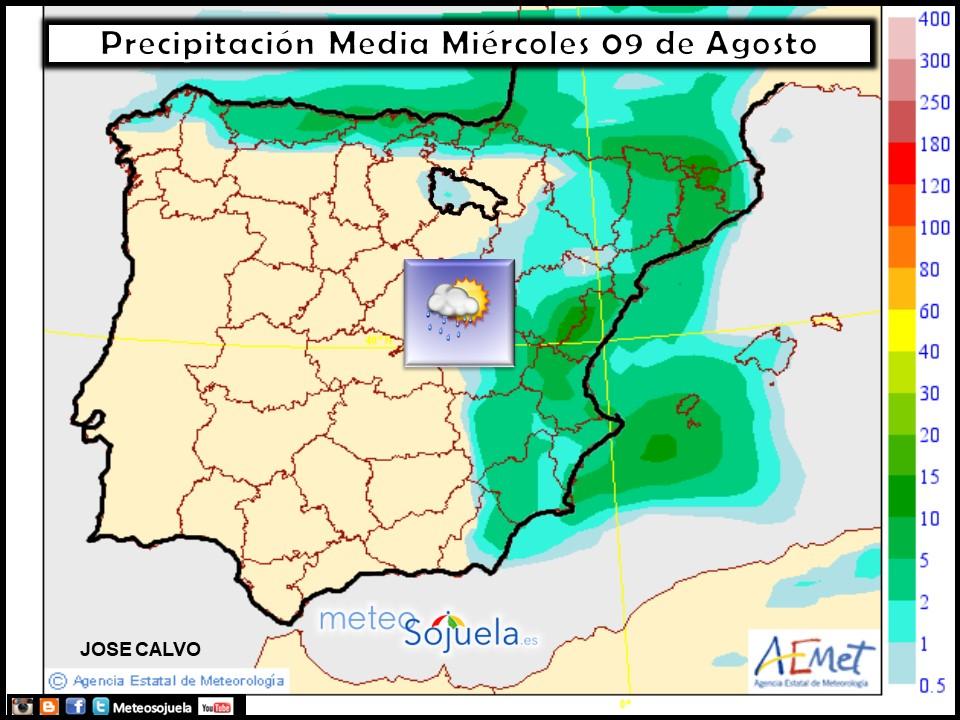 tiempo,larioja,mapa precipitacione,josecalvo,meteosojuela,meteo,meteorologia