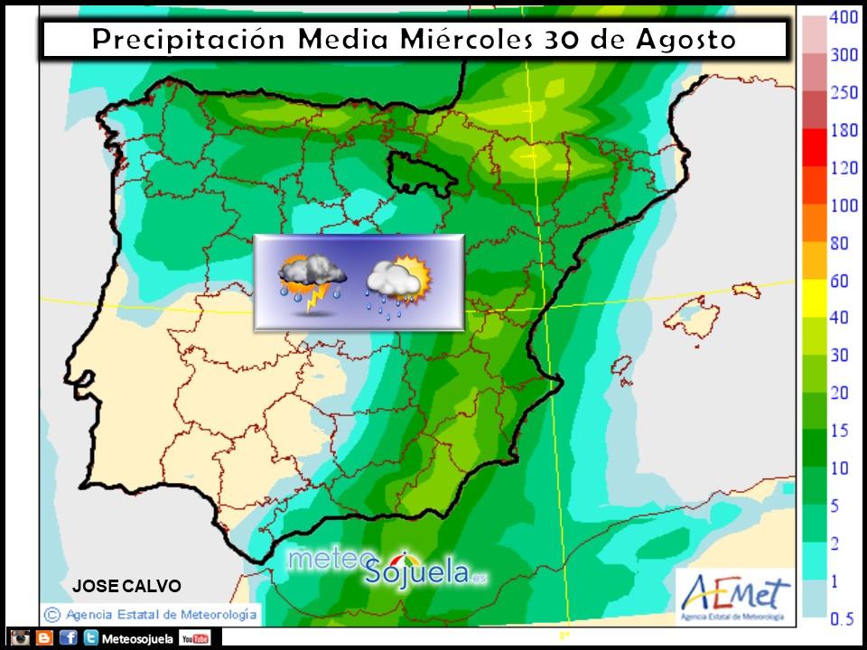 tiempo,larioja,josecalvo,meteosojuela,mapa precipitaciones