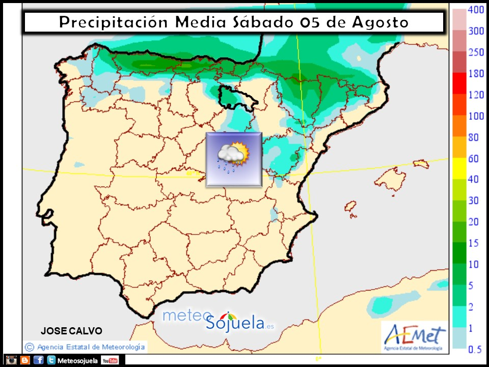 tiempo larioja,mapa lluvias,meteo, meteosojuela,josecalvo