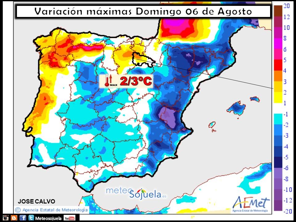 Mapa temperaturas, meteo, meteorologia, tiempo, larioja, logroño josecalvo, meteosojuela