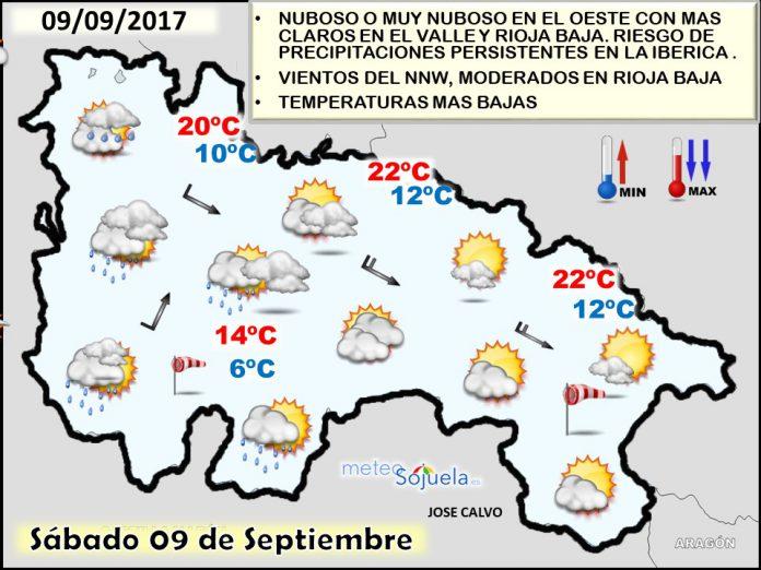 mapa temperaturas, tiempo,larioja,josecalvo,meteosojuela,mapa significativo