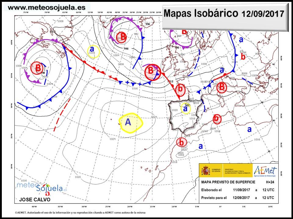 tiempo,larioja,josecalvo,meteo,meteosojuela,mapa isobarico