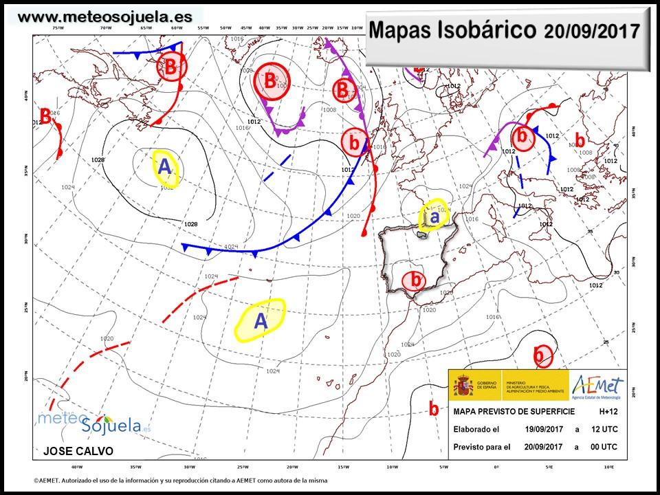 meteo tiempo,logroño,larioja,josecalvo,meteosojuela, mapa isobárico