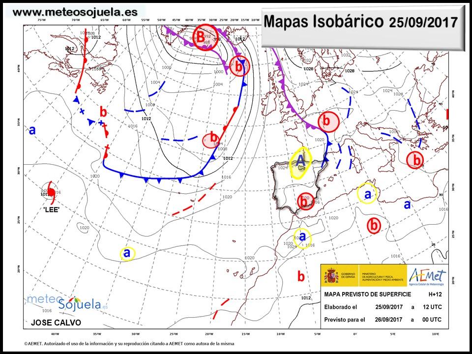 tiempo larioja,josecalvo,meteosojuela,meteo mapa isobarico