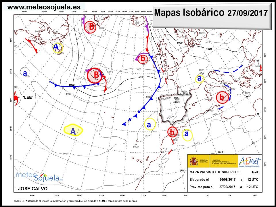 tiempo,meteo,josecalvo,meteosojuela,larioja,mapa isobarico