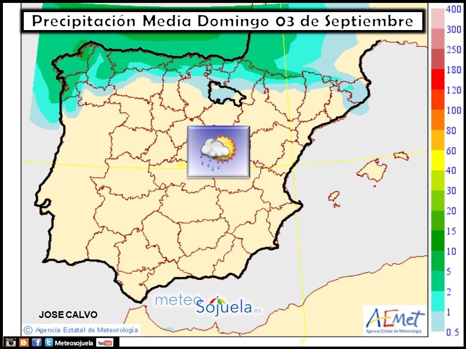 tiempo larioja josecalvo meteosojuela mapa precipitaciones