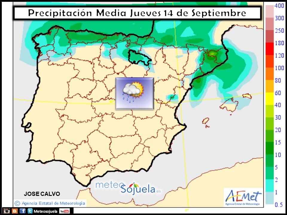 tiem`po,larioja,josecalvo,meteosojuela,mapa precipitación