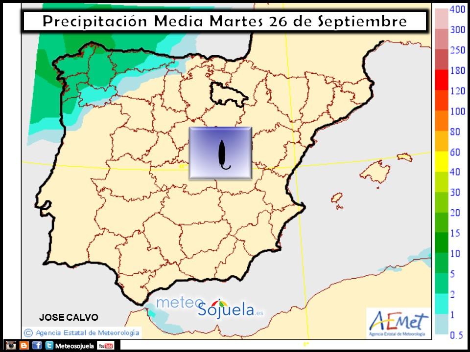 tiempo larioja,josecalvo,meteosojuela,meteo mapa precipitación