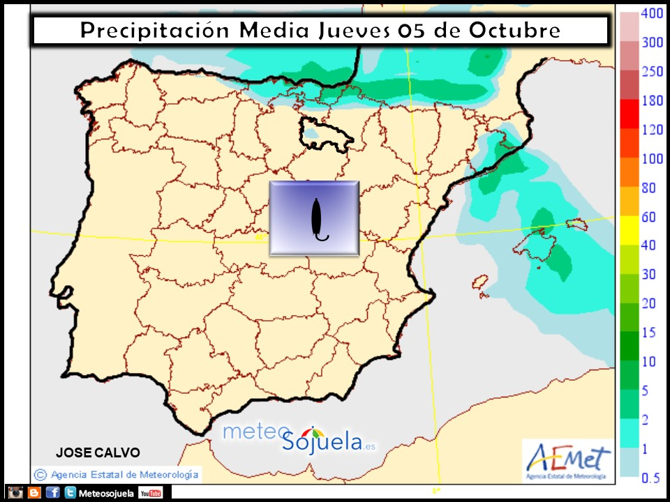 tiempo,logroño,larioja,josecalvo,meteo,meteosojuela, mapa precipitaciones