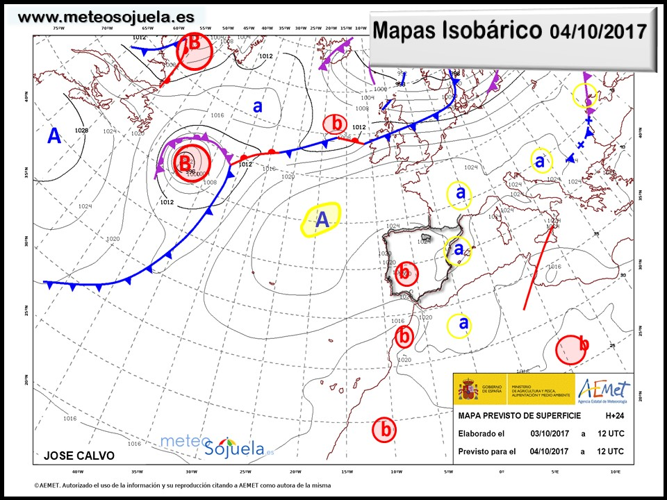 tiempo,larioja,josecalvo,meteosojuela,meteo,mapa isobárico