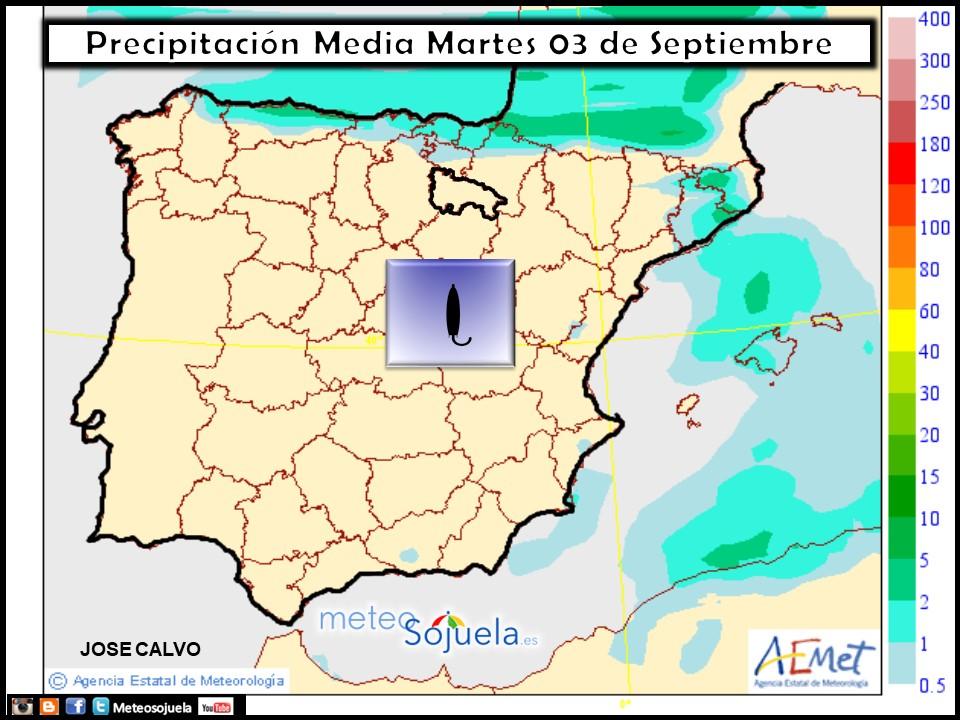 tiempo,larioja,josecalvo,meteo,meteosojuela, mapa precipitaciones