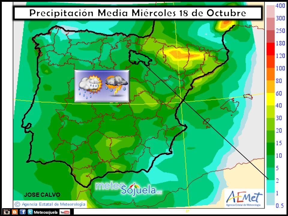 tiempo,hoy larioja,josecalvo,meteosojuela,meteo,mapas precipitacion