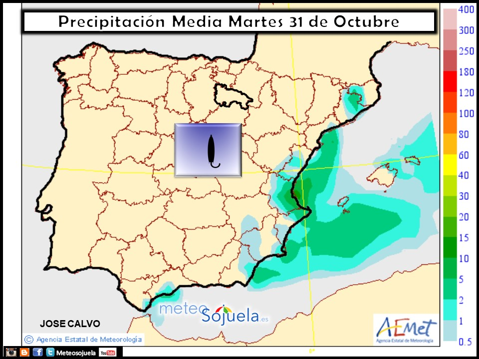 tiempo,hoy,larioja,josecalvo,meteosojuela mapa precipitaciones